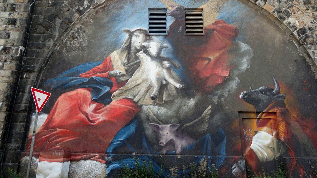 Street Art : Graffitis &amp&#x3B; Fresques Murales 58089 Hagen (Germany)