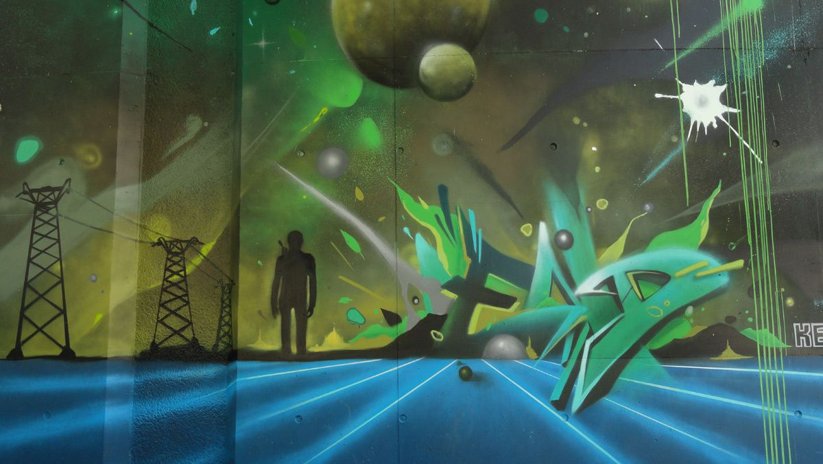 Street Art : Graffitis &amp&#x3B; Fresques Murales 33800 Bordeaux