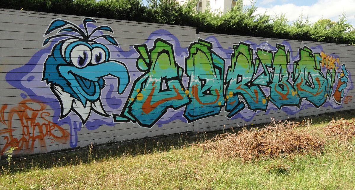Street Art : Graffitis &amp&#x3B; Fresques Murales 33192 Gradignan