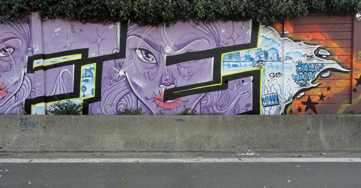 Street Art : Graffitis &amp&#x3B; Fresques Murales 93013 Le Bourget