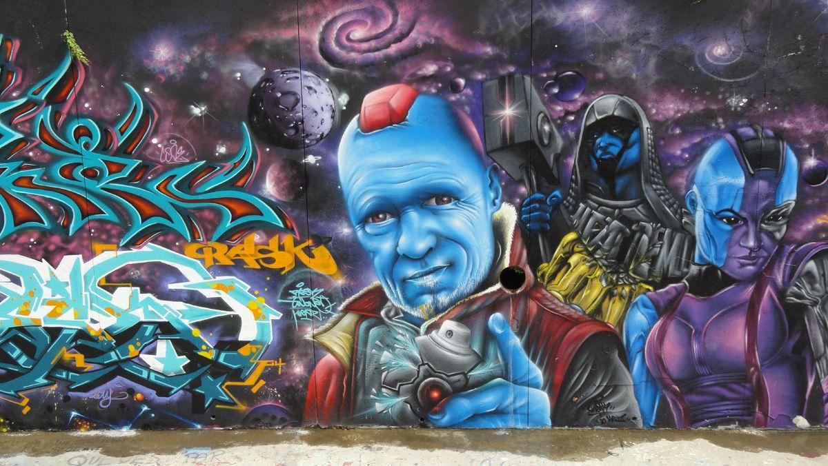 Street Art : Graffitis &amp&#x3B; Fresques Murales 34172 Montpellier