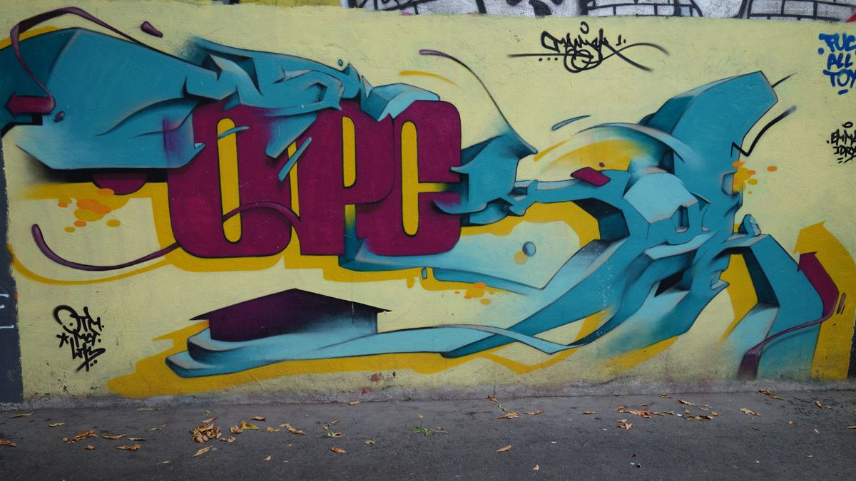 Street Art : Graffitis &amp&#x3B; Fresques Murales 75019 &amp&#x3B; 75020 paris