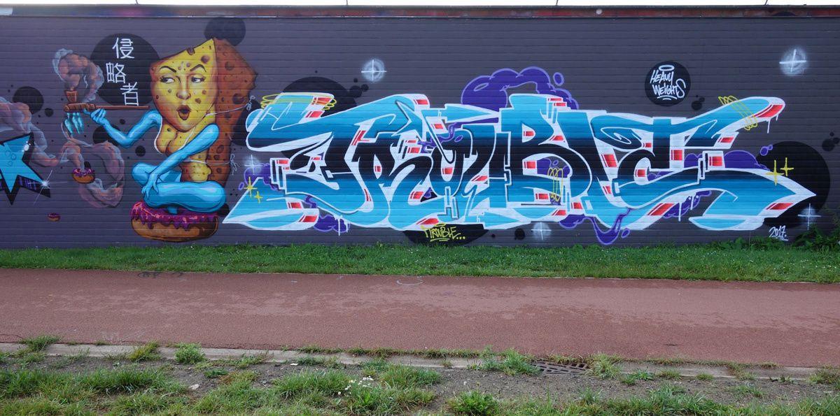 Street Art : Graffitis &amp&#x3B; Fresques Murales 2660 Antwerpen (Belgique)