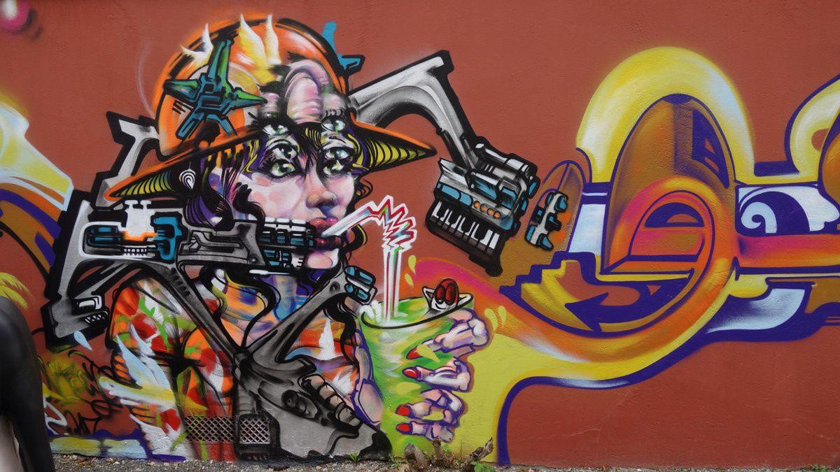 Street Art : Graffitis &amp&#x3B; Fresques Murales 93070 Saint Ouen