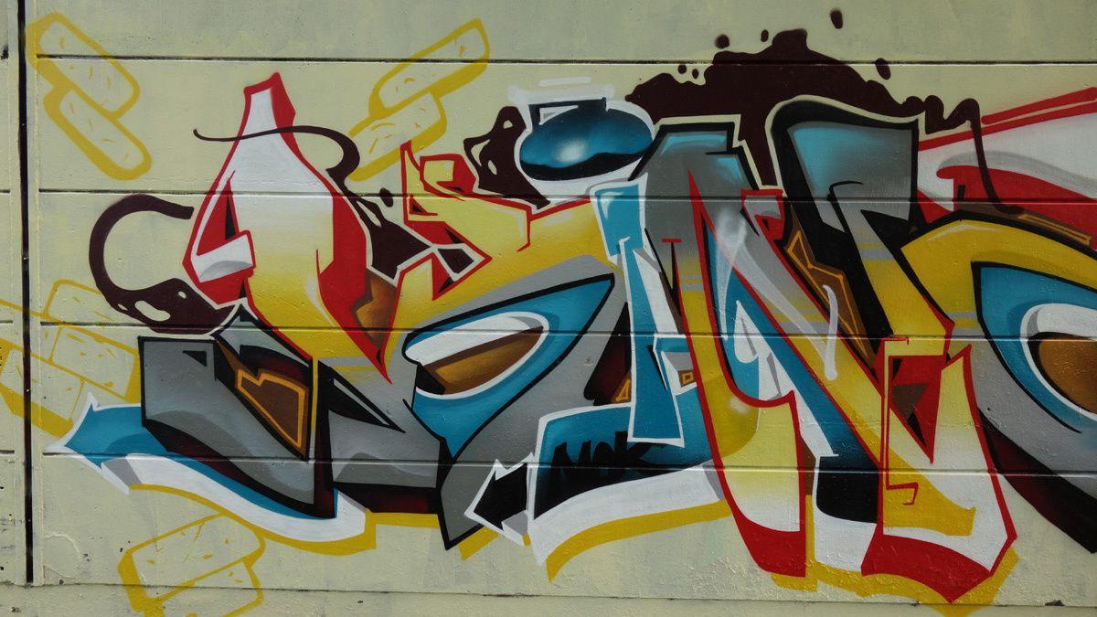 Street Art : Graffitis &amp&#x3B; Fresques Murales 91570 Saint Michel sur Orge