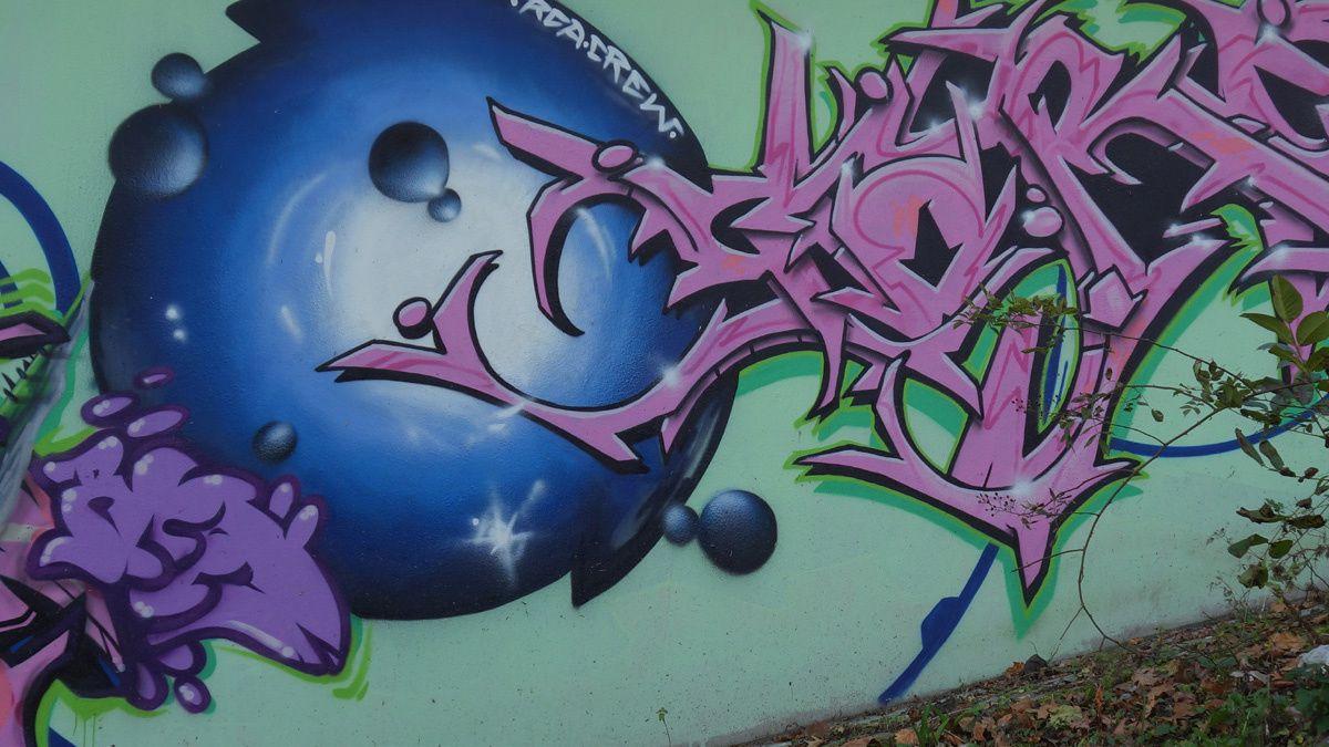 Street Art : Graffitis &amp&#x3B; Fresques Murales 76135 Karlsruhe (Germany)