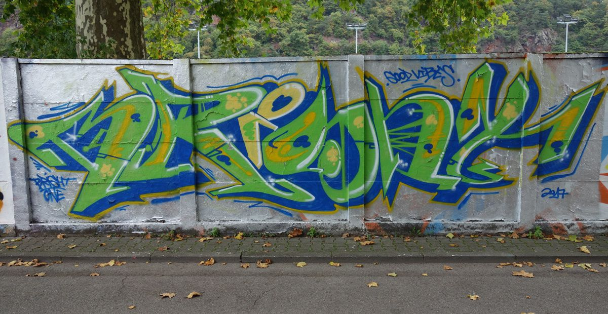 Street Art : Graffitis &amp&#x3B; Fresques Murales 54292 Trier (Germany)