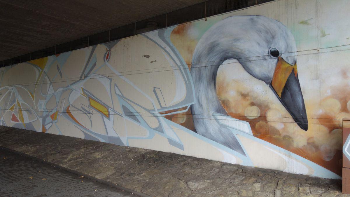 Street Art : Graffitis &amp&#x3B; Fresques Murales 54290 Trier (Germany)