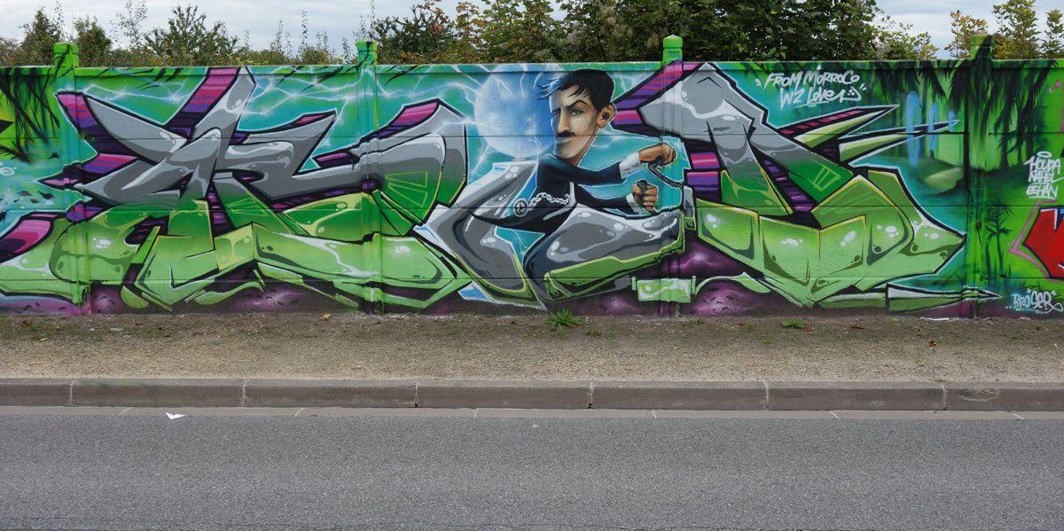Street Art : Graffitis &amp&#x3B; Fresques Murales 51454 Reims