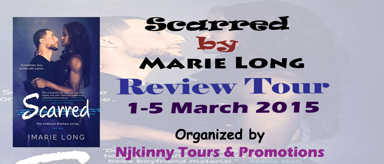Review Tour : Scarred by Marie Long