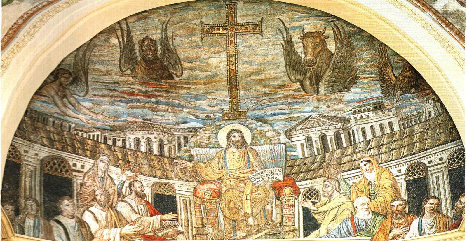 Regard sur les mosaïques du 1er art chrétien à Rome du IVe au VIe siècle