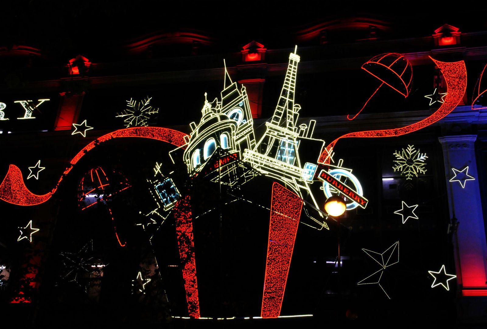 Illuminations parisiennes pour Noël (2014)