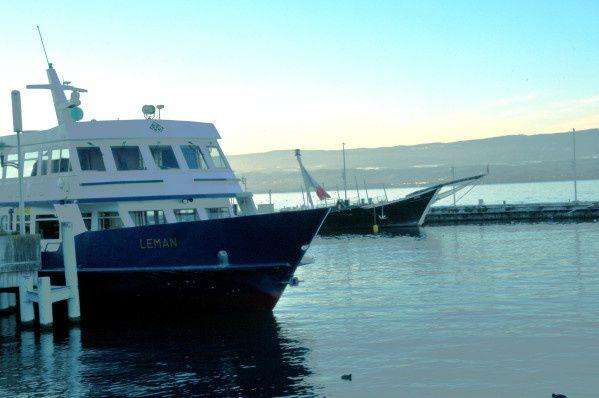 Leman au port d'Evian les bains