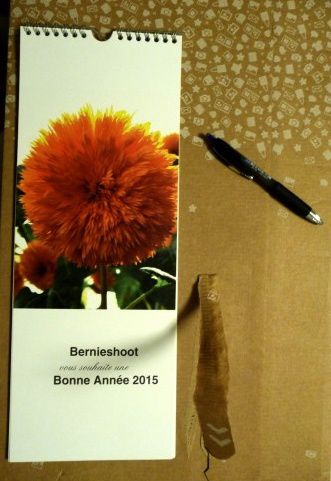 Calendrier Mural long de Photobox - conditionnement