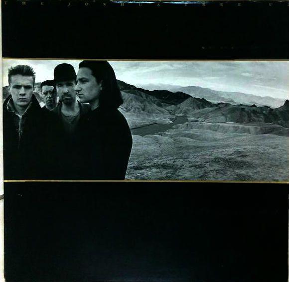 U2 vinyle Joshua tree