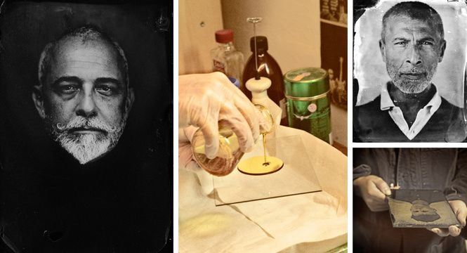 Ambrotype - collodion humide