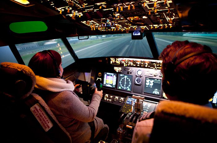 vaincre sa peur en avion - Flight Experience Paris Simulateur