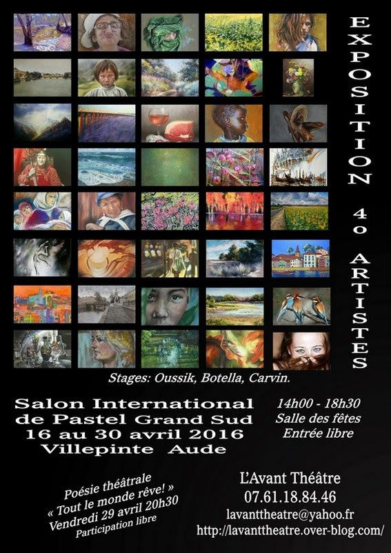 Salon International de Pastel Grand Sud 2016