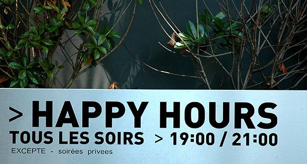 Vive les happy hours