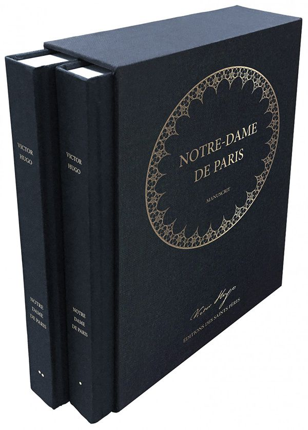 Manuscrit original Notre-Dame de Paris Victor Hugo