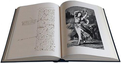 ecriture droite victor hugo manuscrit original
