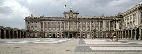 chateau roi espagne madrid