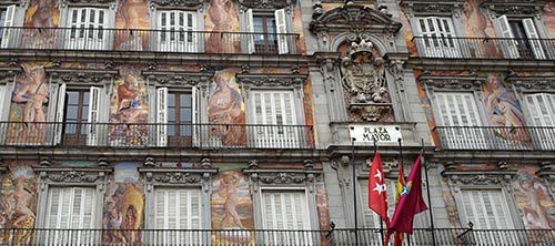 plaza mayor espana madrid