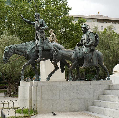 don quichotte sancho panza cervantes