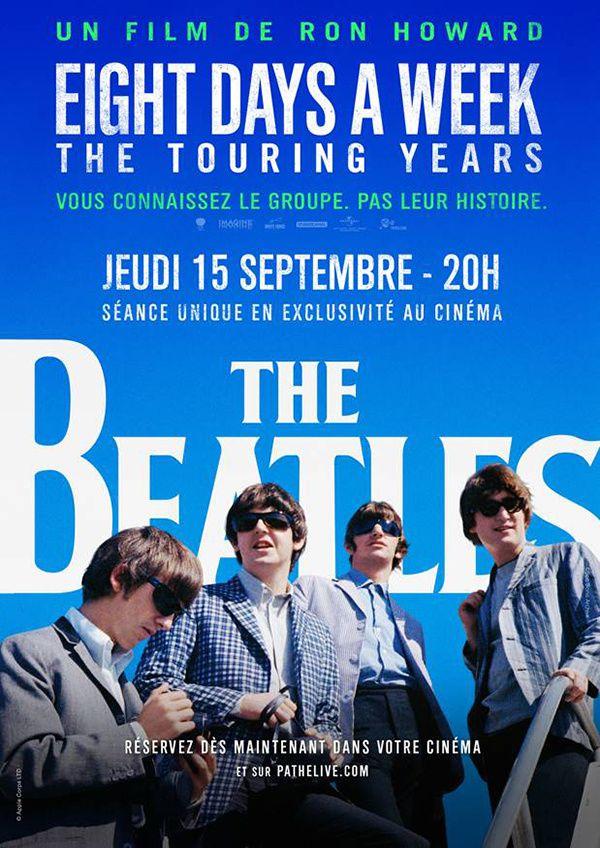 The Beatles : Découvrez la bande-annonce et l'affiche du film événement inédit réalisé par Ron Howard