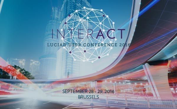 INTERACT Luciad User Conference 2016 Brussels