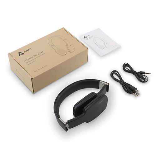 kit casque bluetooth headset aukey