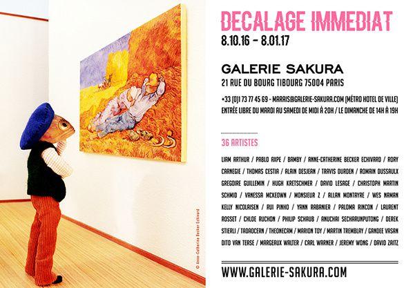 Décalage immédiat Galerie Sakura Paris