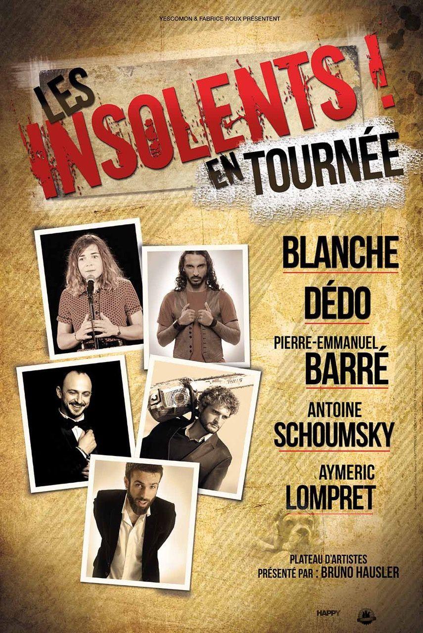 Les insolents à La Comédie de Toulouse  Le  samedi 22 octobre
