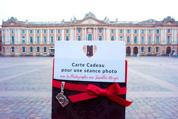 carte cadeau pour une séance photos avec  Alexandra, la photographe aux semelles rouges