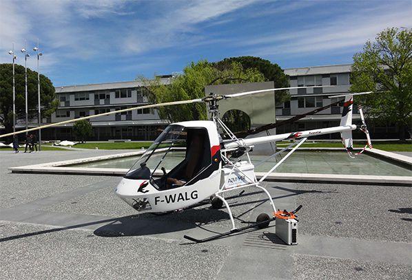 hélicoptère tout électrique VOLTA credit photo ENAC