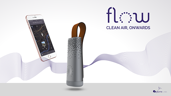 Plume Labs unveils Flow at CES to beat air pollution