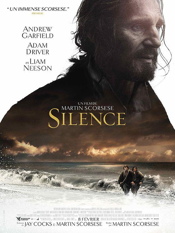 nouvelle affiche française du nouveau film de Martin Scorsese  SILENCE