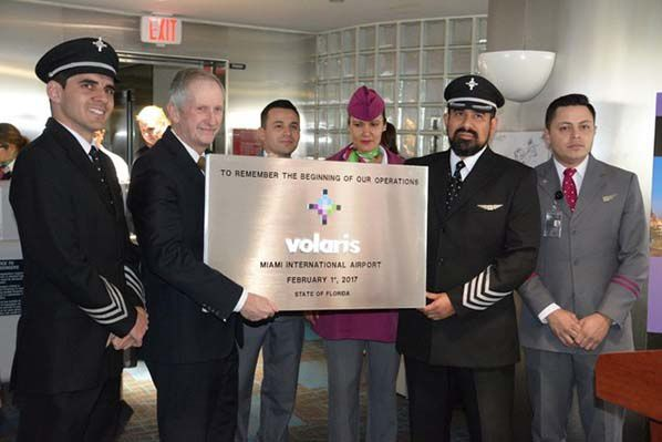 MIA Welcomes Inaugural Flight By Volaris - Bernieshoot