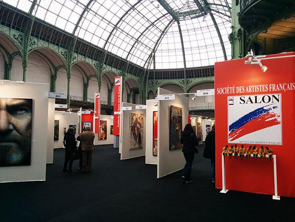 Ouverture du Salon des Artistes Français