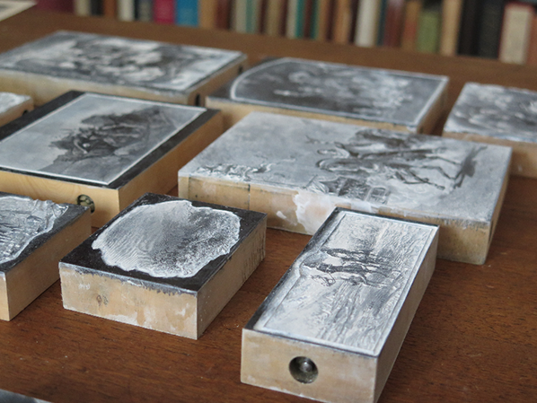 Collection exceptionnelle de bois gravés sur le Salon du Livre Rare et de l'Objet d'Art