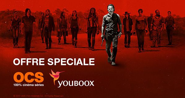 YOUBOOX et OCS s'associent autour de THE WALKING DEAD