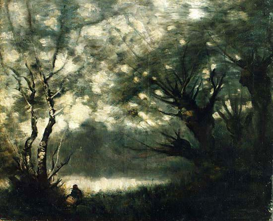 Camille Corot, (1796-1875), Paysage d'automne