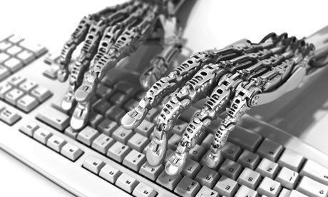 ... robot parmi les machines, le futile, assassin, nous vole et nous exalte ...