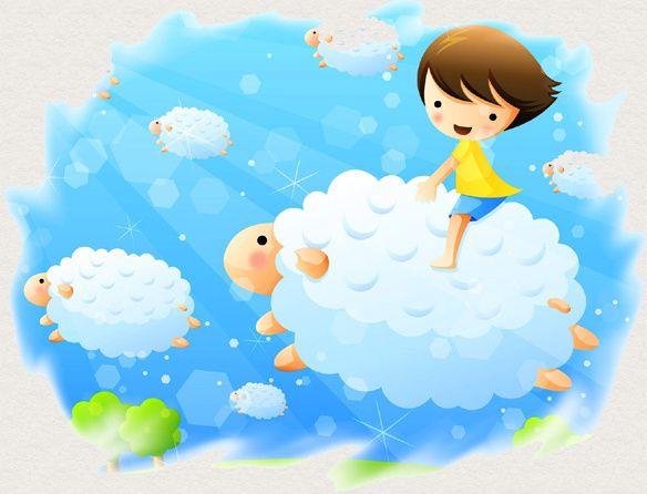 ... Les nuages sont bleus, moutons dans les hauteurs, les pointes des montagnes piquent ces brouteurs ...