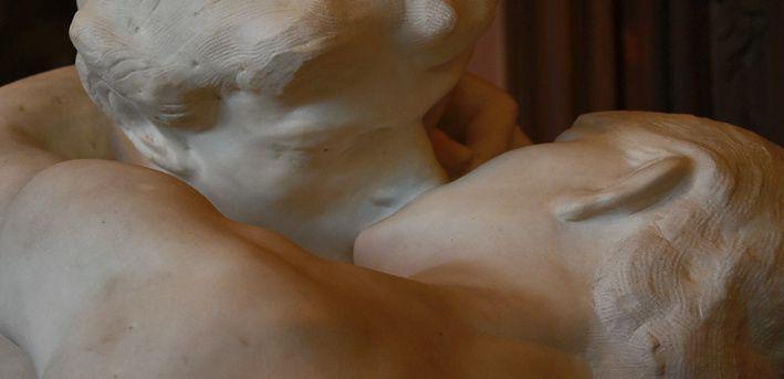 Auguste Rodin, (1840-1917), le baiser