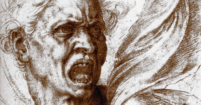 Michelangelo di Lodovico Buonarroti Simoni (1475-1564), L'âme damnée