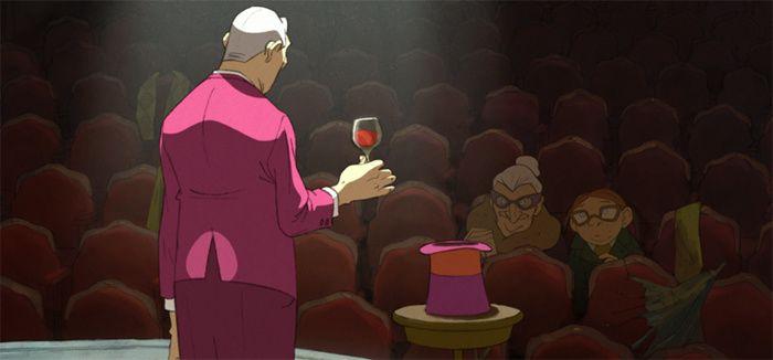 Image du film « L'illusionniste » réalisé par Sylvain Chomet d'après un scenario original de Jacques Tati