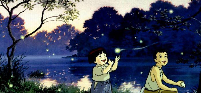 "Image extraite du film ""Le Tombeau des lucioles"" d'Isao Takahata, 1996"