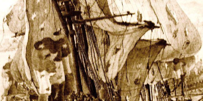 ... Pour jeter le navire aux brisants de la mort, épave sous la mer qui brasse nos destins ...