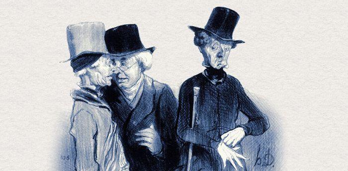 Honoré Daumier (1808-1879), caricature